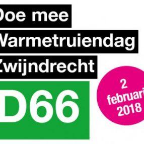 Warmetruiendag D66 Zwijndrecht